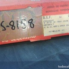 Coches y Motocicletas: JUEGO ZAPATAS TRASERAS RENAULT 9,11, SUPERCINCO Y EXPRESS. Lote 175784763