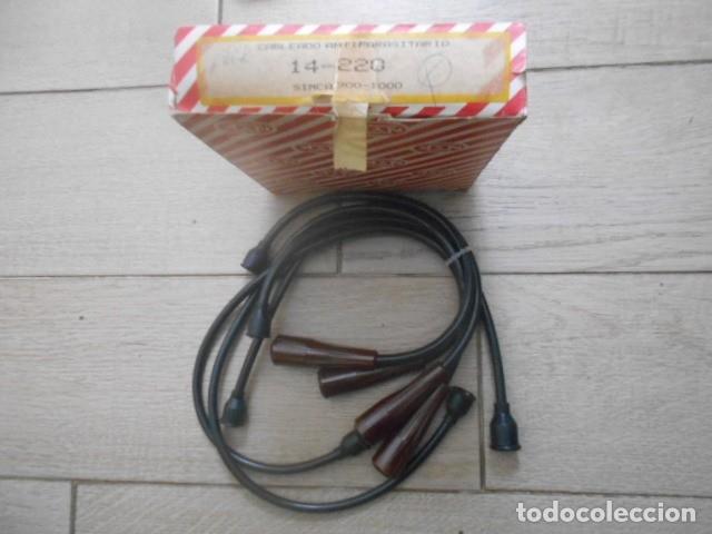 CABLES ANTIPARASITARIOS SIMCA 900 Y 1000 (Coches y Motocicletas - Repuestos y Piezas (antiguos y clásicos))
