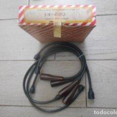 Coches y Motocicletas: CABLES ANTIPARASITARIOS SIMCA 900 Y 1000. Lote 194237198