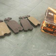 Coches y Motocicletas: PASTILLAS FRENO CITROEN C8 ANTIGUO. Lote 175966189