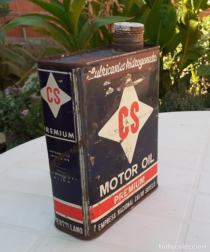 Coches y Motocicletas: LATA DE ACEITE LUBRICANTE CS MOTOR OIL PREMIUM - Foto 4 - 178828252