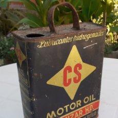 Coches y Motocicletas: LATA DE ACEITE LUBRICANTE CS MOTOR OIL MIZAR. Lote 178828341