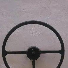 Coches y Motocicletas: OCASION COLECCIONISTAS ANTIGUO VOLANTE BAQUELITA PARA LAND ROVER O LAND ROVER SANTANA ?. Lote 179309120