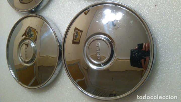 Coches y Motocicletas: 4 tapacubos seat clasicos - Foto 4 - 182632070