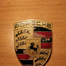 Coches y Motocicletas: LOGOTIPO CHAPA DE PORSCHE ANTIGUA. Lote 183813608