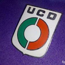 Coches y Motocicletas: CHAPA UCD , PARA COCHE.. Lote 184472032