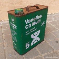 Coches y Motocicletas: LATA DE ACEITE LUBRICANTE COCHES BP VANELLUS C3 EXTRA. Lote 188425705