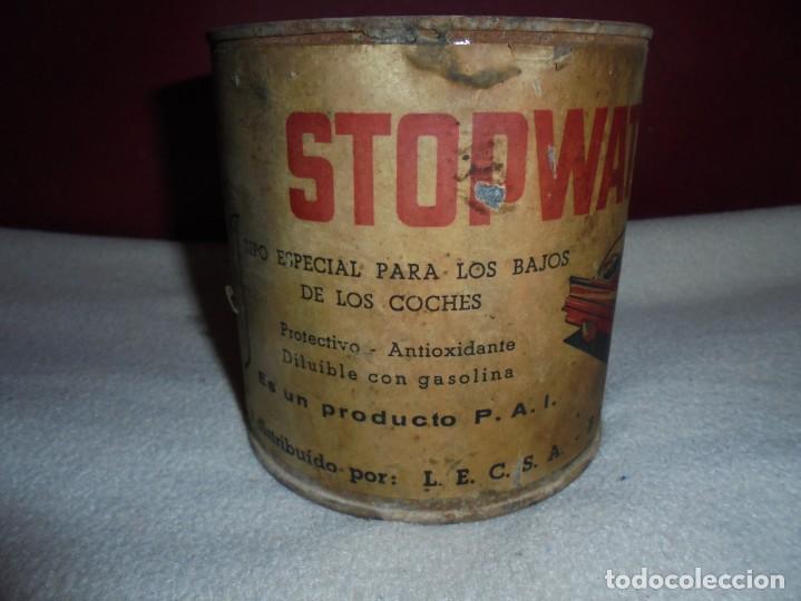 Coches y Motocicletas: magnifica antigua lata de stopwater para los bajos de los coches protectivo antioxidante - Foto 2 - 189171632
