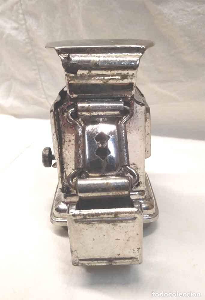 Coches y Motocicletas: Foco Luz de aceite para Bicicleta años 20, Made in England. Med. 7,50 x 12 x 11 cm - Foto 5 - 189330512