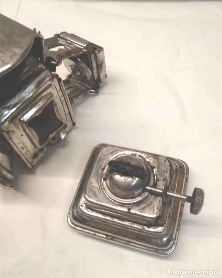 Coches y Motocicletas: Foco Luz de aceite para Bicicleta años 20, Made in England. Med. 7,50 x 12 x 11 cm - Foto 7 - 189330512