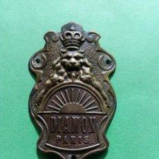 Coches y Motocicletas: CHAPA BICICLETA. Lote 191065627