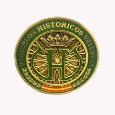 Coches y Motocicletas: INSIGNIA VEHICULOS HISTÓRICOS VALENCIA. Lote 191597033