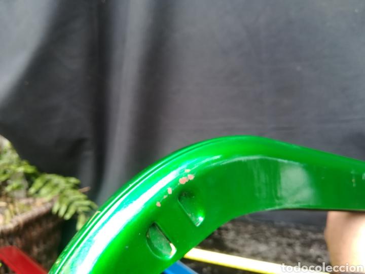 Coches y Motocicletas: Cubre cadena verde de bicicletas clásica - Foto 5 - 194346537