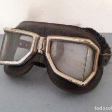 Coches y Motocicletas: ANTIGUAS GAFAS DE MOTO CLIMAX , CON SEÑALES DE EDAD. Lote 194767550