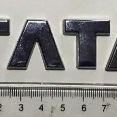 Coches y Motocicletas: ANAGRAMA TATA - 10CMS, ANAGRAMAS / T3. Lote 195386492