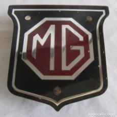 Coches y Motocicletas: PLACA ANAGRAMA DE COCHE MG. Lote 195511907