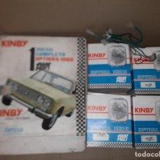 Coches y Motocicletas: FAROS SEAT 1430 NUEVOS , EN CAJA, KIMBY IODO FAESSA.. Lote 195532627