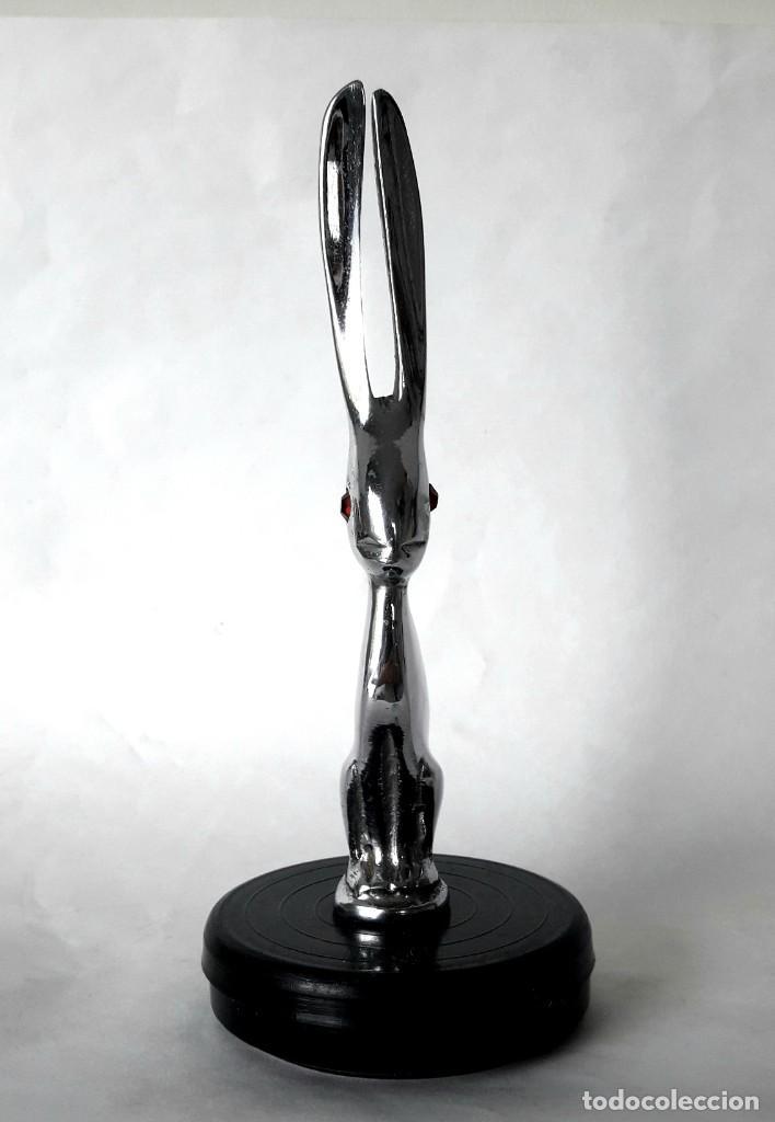 Coches y Motocicletas: Talbot 1925 1926? Conejo liebre con ojos de Rubí Auténticos ornamento de radiador Car/bonnet mascot. - Foto 5 - 196625863
