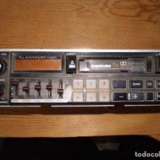 Coches y Motocicletas: RADIO RADIOCASETTE SAMSUNG. Lote 197836215