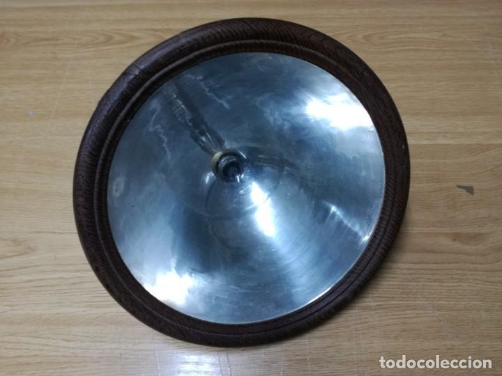 GRAN FOCO DE COCHE ANTIGUO 25 CM MUY RARO CERCO MADERA (Coches y Motocicletas - Repuestos y Piezas (antiguos y clásicos))