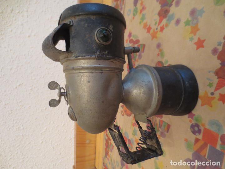 Coches y Motocicletas: farol faro carburo bicicleta. 1900. hassia. - Foto 2 - 200569336