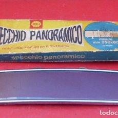 Coches y Motocicletas: ESPEJO PANORAMICO, SHELL. AÑOS 60-70..CAJA ORIGINAL..ADAPTABLE AL RETROVISOR DEL COCHE.... Lote 200763743