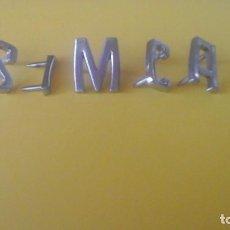 Coches y Motocicletas: ANAGRAMA SIMCA. Lote 205537390