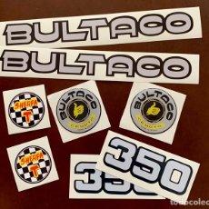 Coches y Motocicletas: PEGATINAS BULTACO SHERPA 359. Lote 210216502
