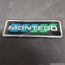 Carros e motociclos: INSIGNIA EMBLEMA - MONTEGO - CAR196. Lote 211394514