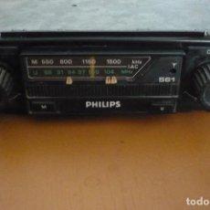 Coches y Motocicletas: RADIO PARA COCHE PHILIPS MOD 561. Lote 220893922