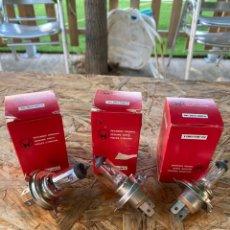 Coches y Motocicletas: BOMBILLAS RECAMBIOS ORIGINALES. Lote 212538055