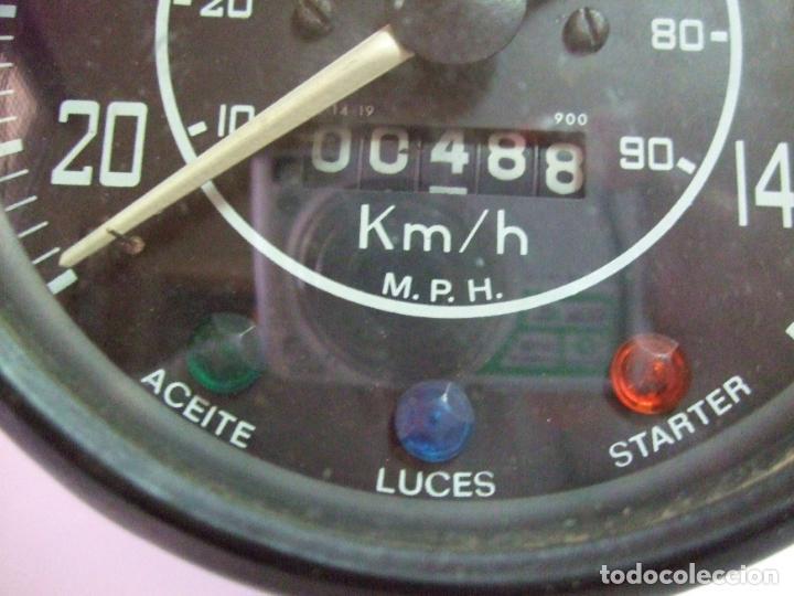 Coches y Motocicletas: VELOCIMETRO VEGLIA BRESSEL LAND ROVER SANTANA - CUENTAKILOMETROS RELOJ INDICADOR SALPICADERO COCHE - Foto 3 - 212868880