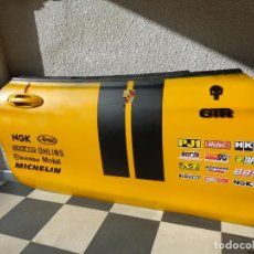 Coches y Motocicletas: ¡¡¡ PUERTA DE COCHE TEMATIZADA PORSCHE GTR SKULL RACING TEAM DECORACIÓN GARAJE - BAR !!!. Lote 213998757