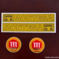 Coches y Motocicletas: PEGATINA CLASICA MONTESA CAPPRA 250 VG. Lote 214110392