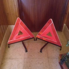 Coches y Motocicletas: TRIANGULOS EMERGENCIA. Lote 214262102