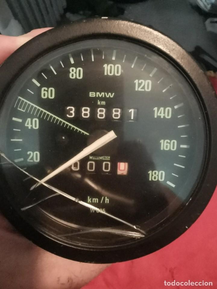 Coches y Motocicletas: Cuentakilometros moto bmw r45 o 65. años 80 - Foto 4 - 214954725