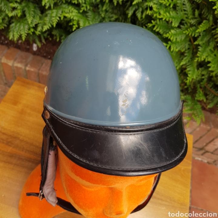 Coches y Motocicletas: ANTIGUO CASCO PARA MOTOCICLETA FLEXIFORT VASCA - Foto 4 - 215082265