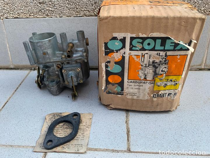 CARBURADOR SOLEX 32 PDIS RENAULT 8 (Coches y Motocicletas - Repuestos y Piezas (antiguos y clásicos))