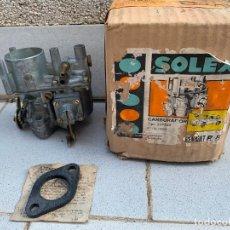 Coches y Motocicletas: CARBURADOR SOLEX 32 PDIS RENAULT 8. Lote 218233691