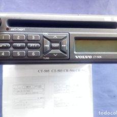Coches y Motocicletas: VOLVO RADIO CT-505. Lote 218412346