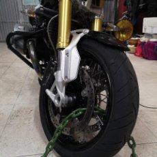 Coches y Motocicletas: CADENA Y CANDADO DE SEGURIDAD PARA MOTO. Lote 219185700