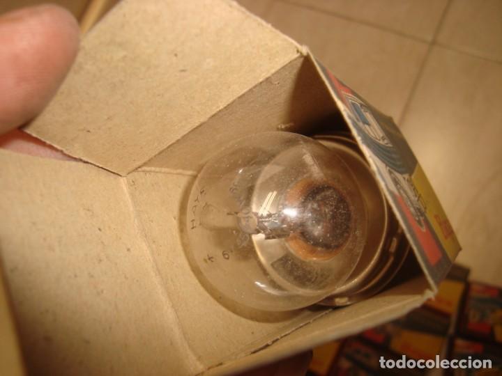 Coches y Motocicletas: lote de 15 bombillas lamparas haye para vehiculo , años 70 vintage - Foto 7 - 219969856