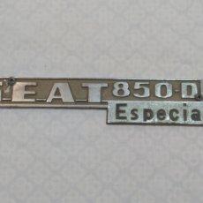 Coches y Motocicletas: ANTIGUA PLACA DEL SEAT 850. Lote 220669928