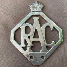 Coches y Motocicletas: R.A.C. ENGLAND INSIGNIA ROYAL AUTOMOBILE CLUB. Lote 221825188
