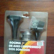 Coches y Motocicletas: BOCINA AIRE COMPRIMIDO DOS SONIDOS. Lote 224533183