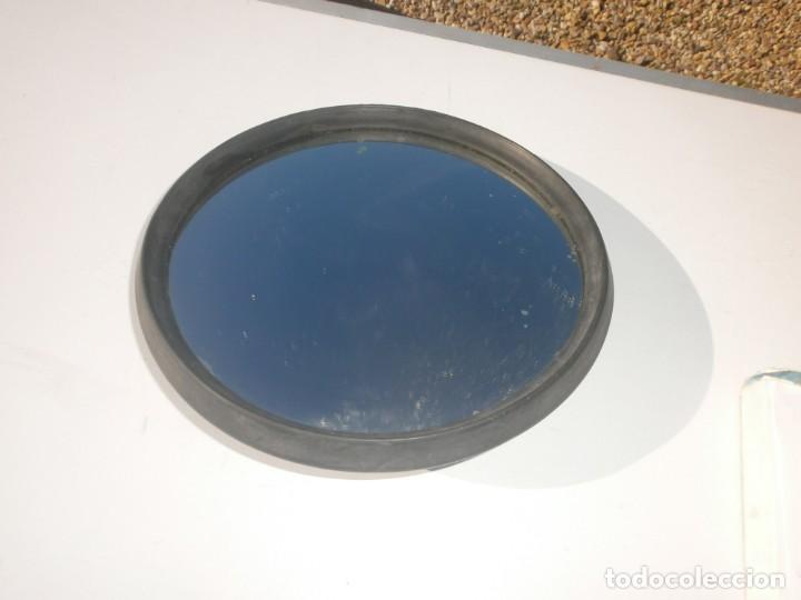 Coches y Motocicletas: Antiguo espejo retrovisor redondo 23 cm. diámetro de coche puede ser citroen - Foto 2 - 226143043