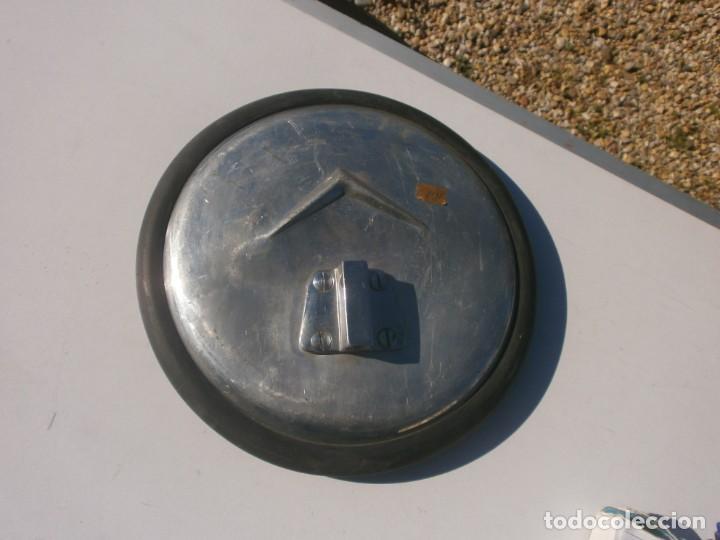 Coches y Motocicletas: Antiguo espejo retrovisor redondo 23 cm. diámetro de coche puede ser citroen - Foto 4 - 226143043