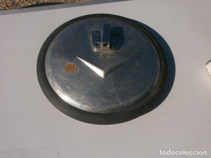 Coches y Motocicletas: Antiguo espejo retrovisor redondo 23 cm. diámetro de coche puede ser citroen - Foto 5 - 226143043