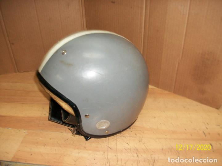 Coches y Motocicletas: ANTIGUO CASCO DE MOTORISTA - Foto 2 - 230614415