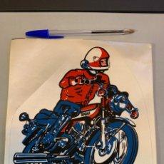 Coches y Motocicletas: MOTO YAMAHA ANTIGUO PARCHE ; PARA CHAQUETA. 21X20 CM. Lote 237135880